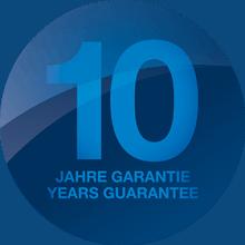 10 Jahre ecom Garantie