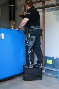 ecom-J2KNpro EASY - Abgasanalysegerät -Koffer