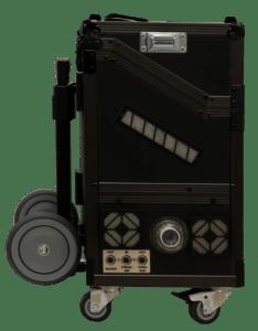 ecom-J2KNpro TECH - mobiles Emissionsmessgerät Koffer Trolley
