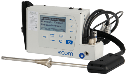 ecom-B - Abgasmessgerät für Heizungs -Anwendungen