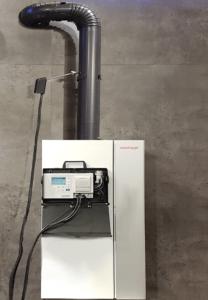 ecom-CL2 - Abgasmessgerät hängend