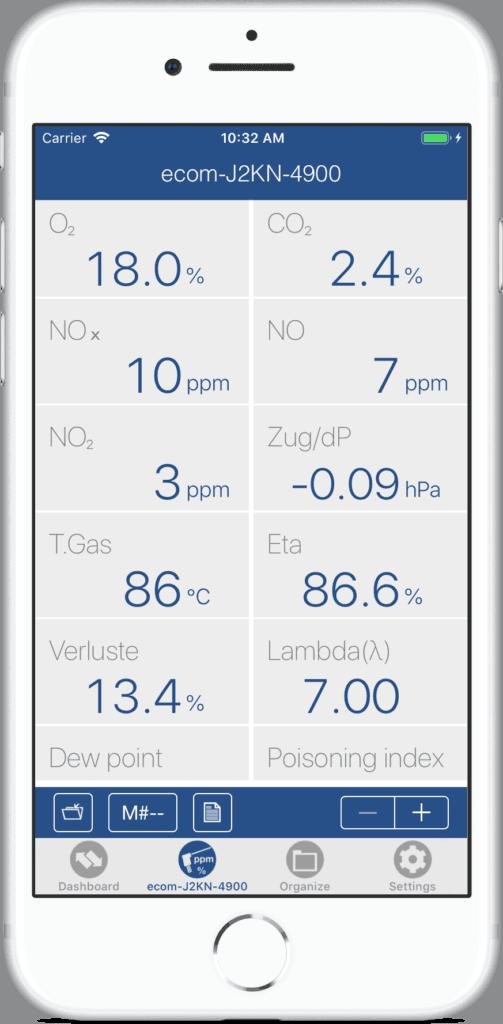ecom App Live Anzeige Beispiel